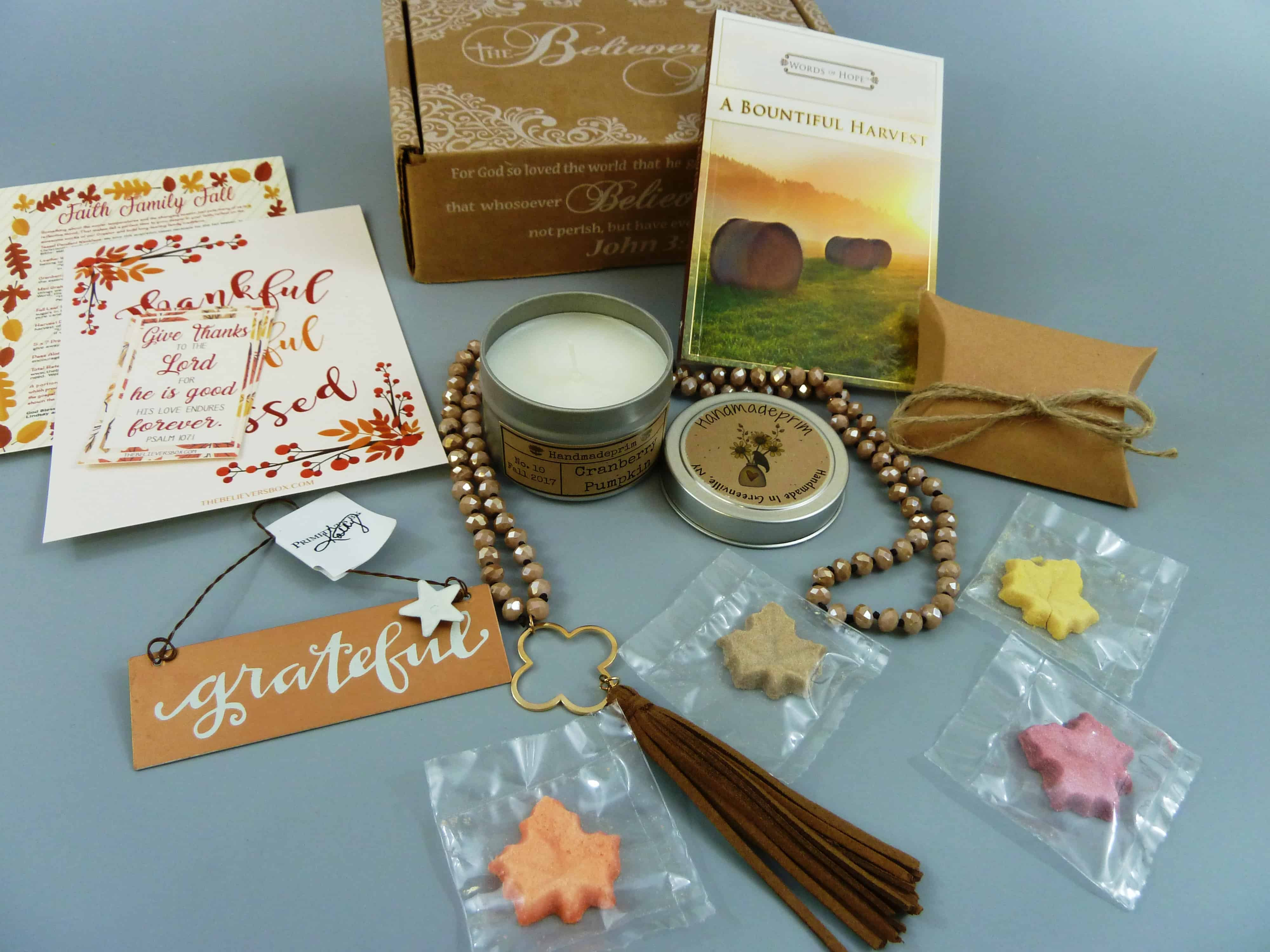 The Believer's Box Subscription Box Review + Coupon – November 2017