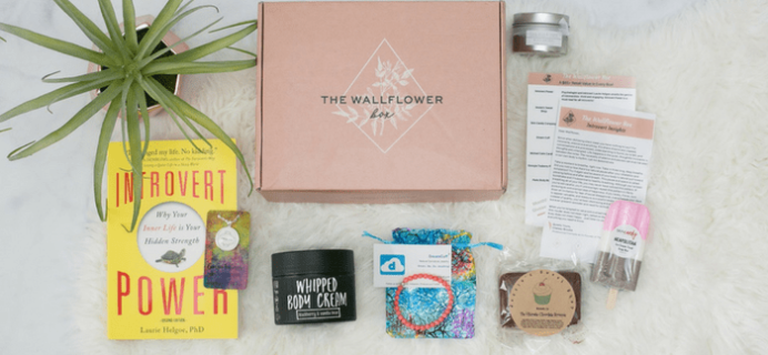 The Wallflower Box Cyber Monday 2017 Coupon: Get 20% Off Your First Box!