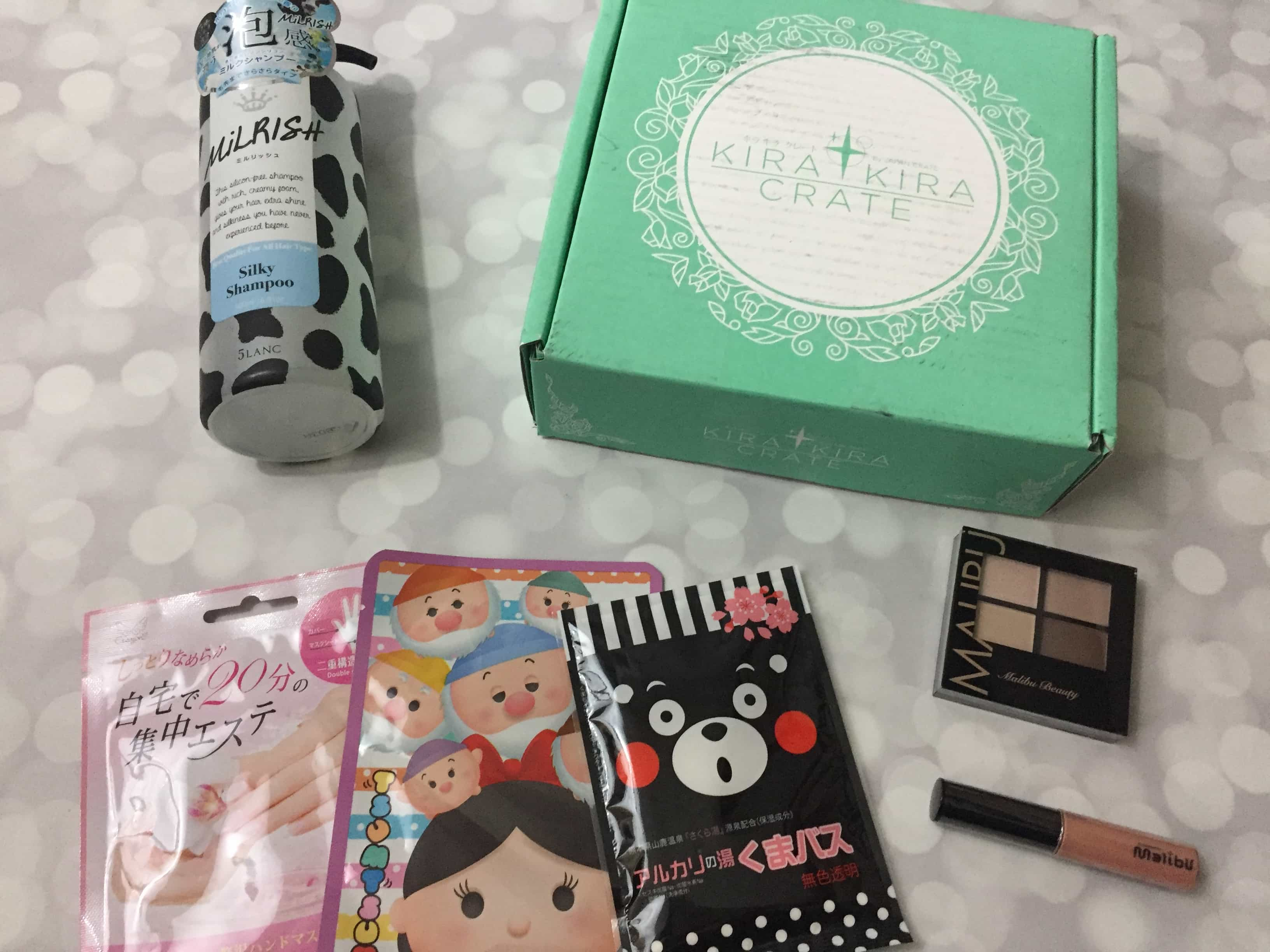 Kira Kira Crate November 2017 Subscription Box Review + Coupon