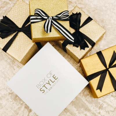 The Zoe Report Box of Style Free Candle With Winter Box!