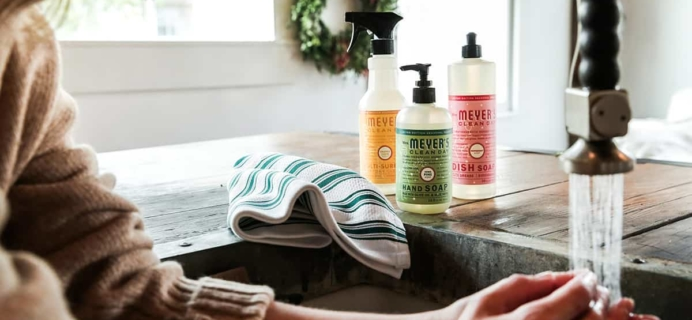 Grove Collaborative: Mrs. Meyer's Holiday Scents Set Free With $20 Purchase!  LAST CALL!