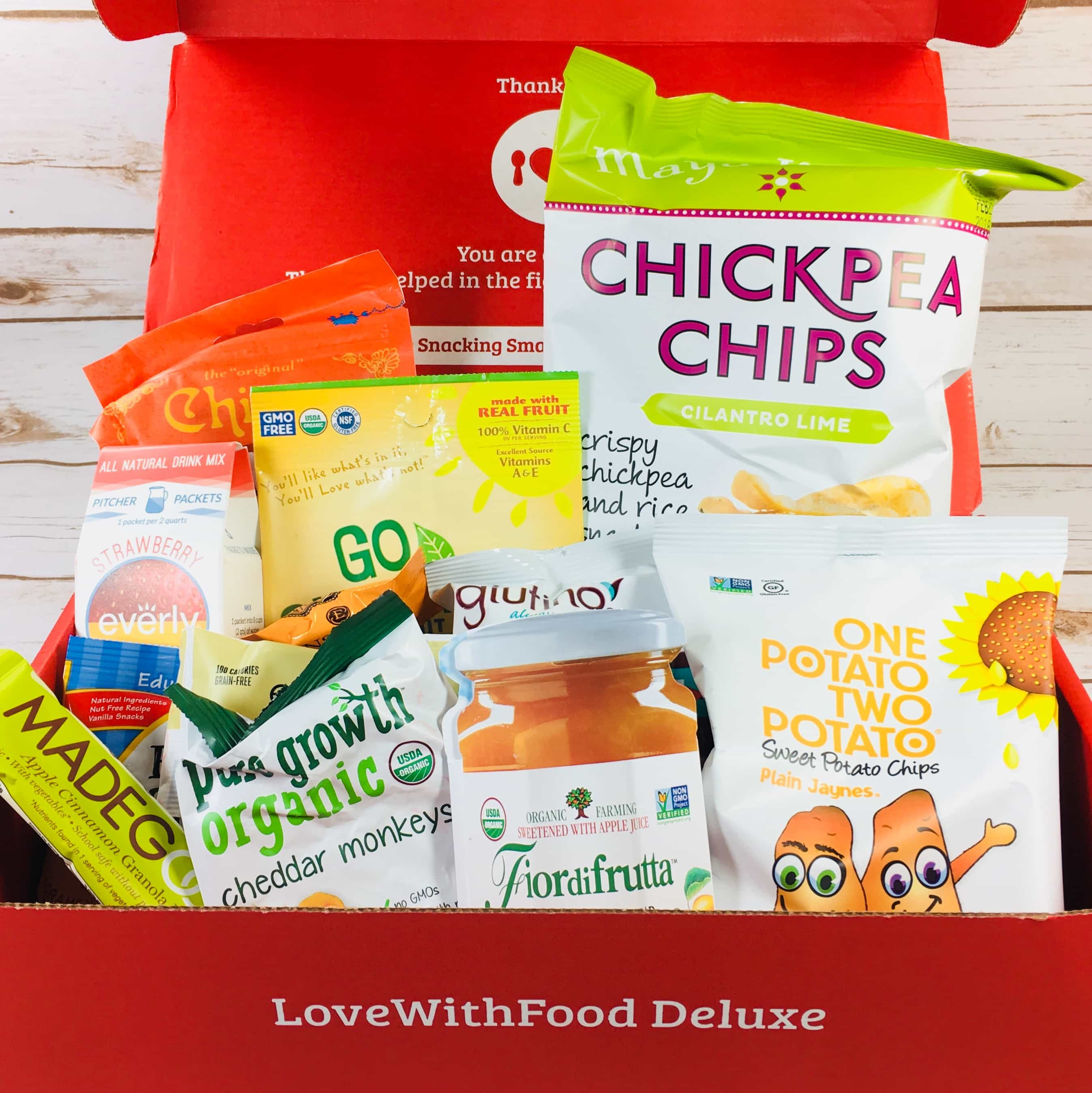 Love With Food Deluxe Box November 2017 Subscription Box Review + Coupon