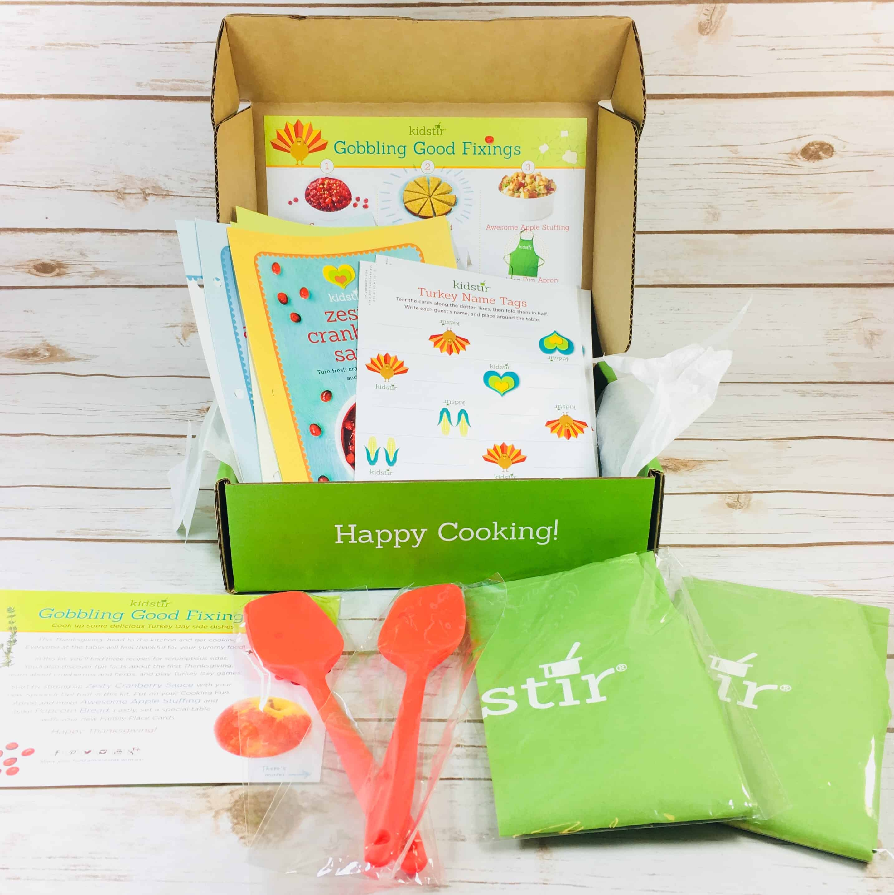 Kidstir November 2017 Subscription Box Review + Coupon!