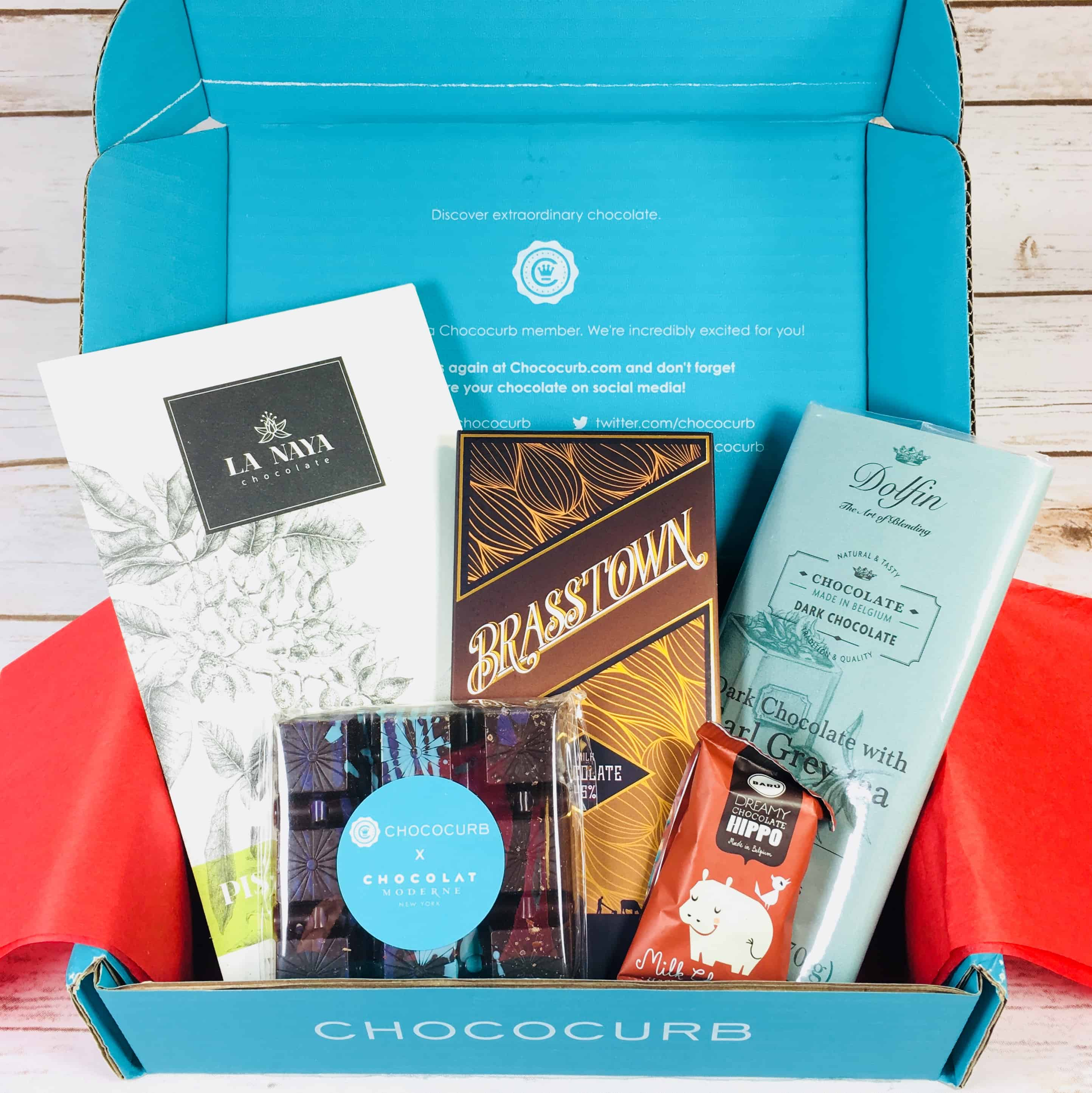 Chococurb Classic November 2017 Subscription Box Review