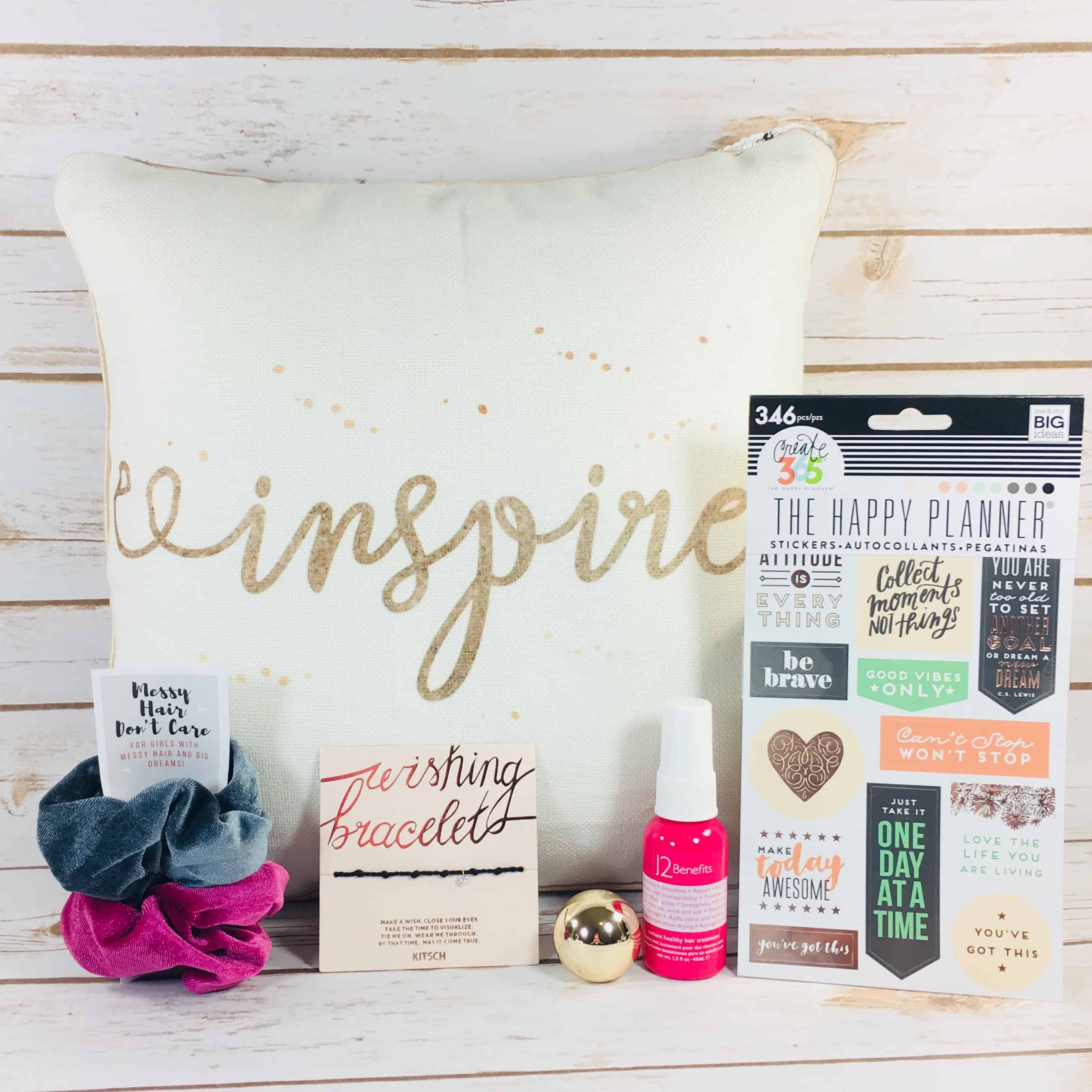 STRONG self(ie) Subscription Box Review – Winter 2017 BURST(box)