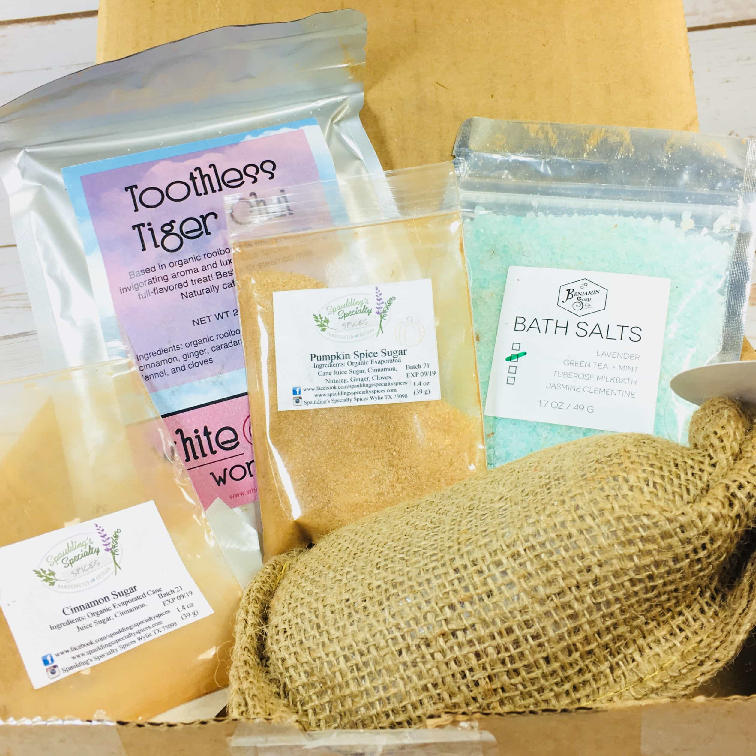 Tea Box Express October 2017 Subscription Review & Coupon