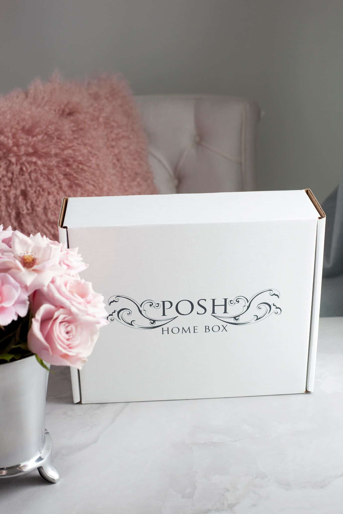 Posh Home Box 2017 Black Friday Deal: Take $7 off your subscription box!