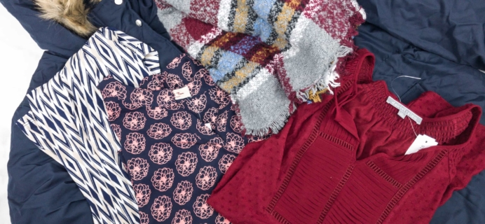 November 2017 Stitch Fix  Review {Maternity/Plus} + Try It Free Deal!