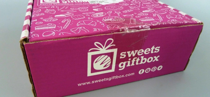 Sweets Gift Box October 2017 Subscription Box Review + Half Off First Box!