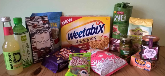 DegustaBox UK November 2017 Subscription Box Review + Coupon!