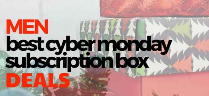 The Best Cyber Monday Subscription Box Deals For Men