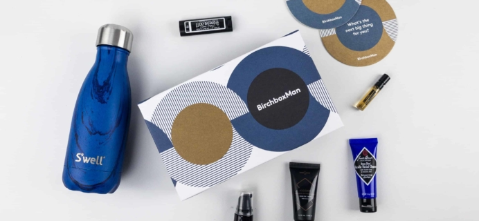 Birchbox Man November 2017 Subscription Box Review & Coupon
