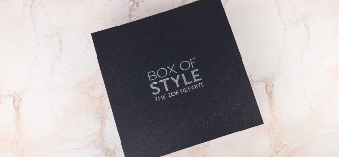 Zoe Report Box of Style Winter 2017 Review + Coupon