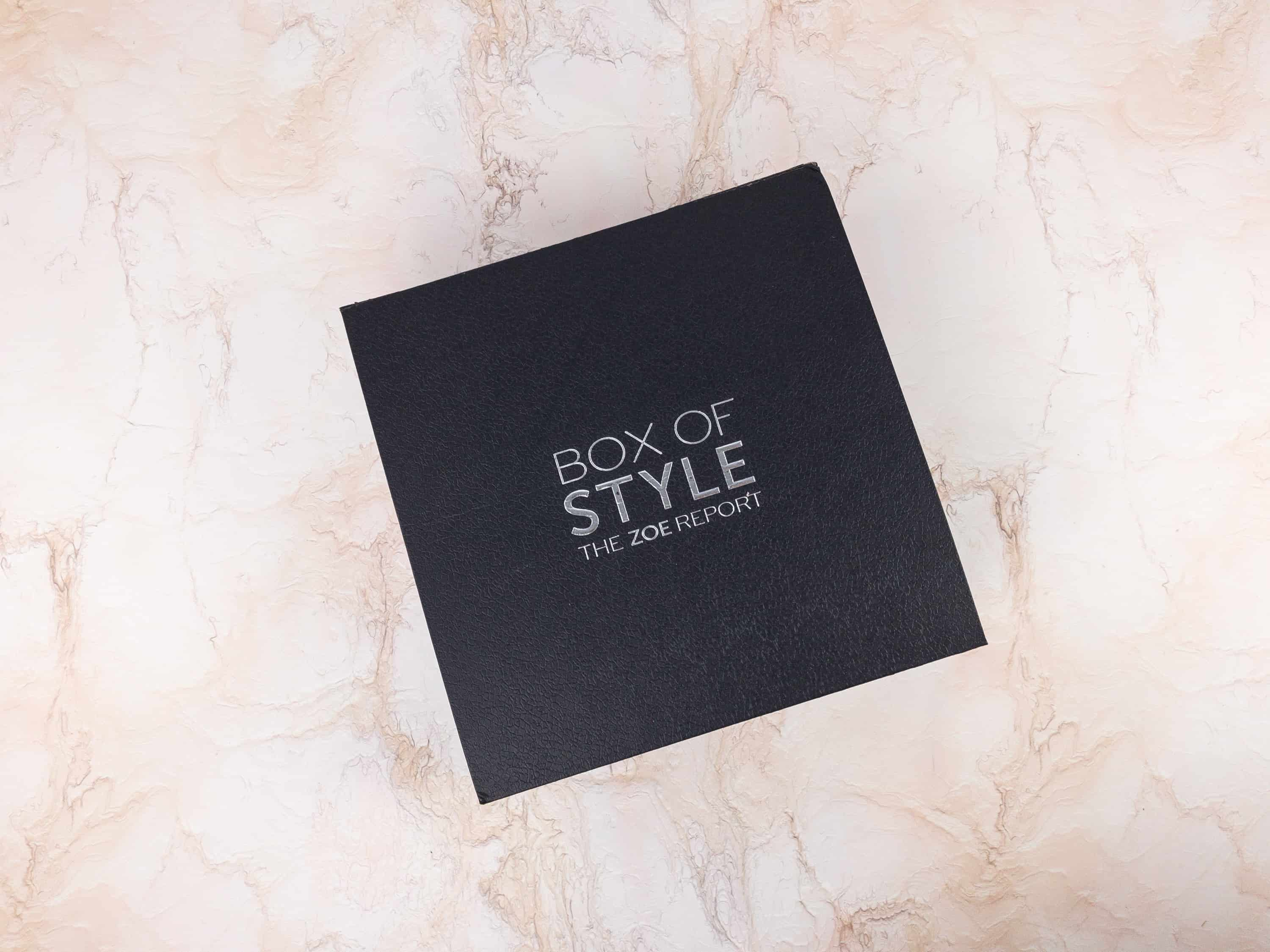 The Zoe Report Box of Style Spring 2018 FULL SPOILERS + Coupon!