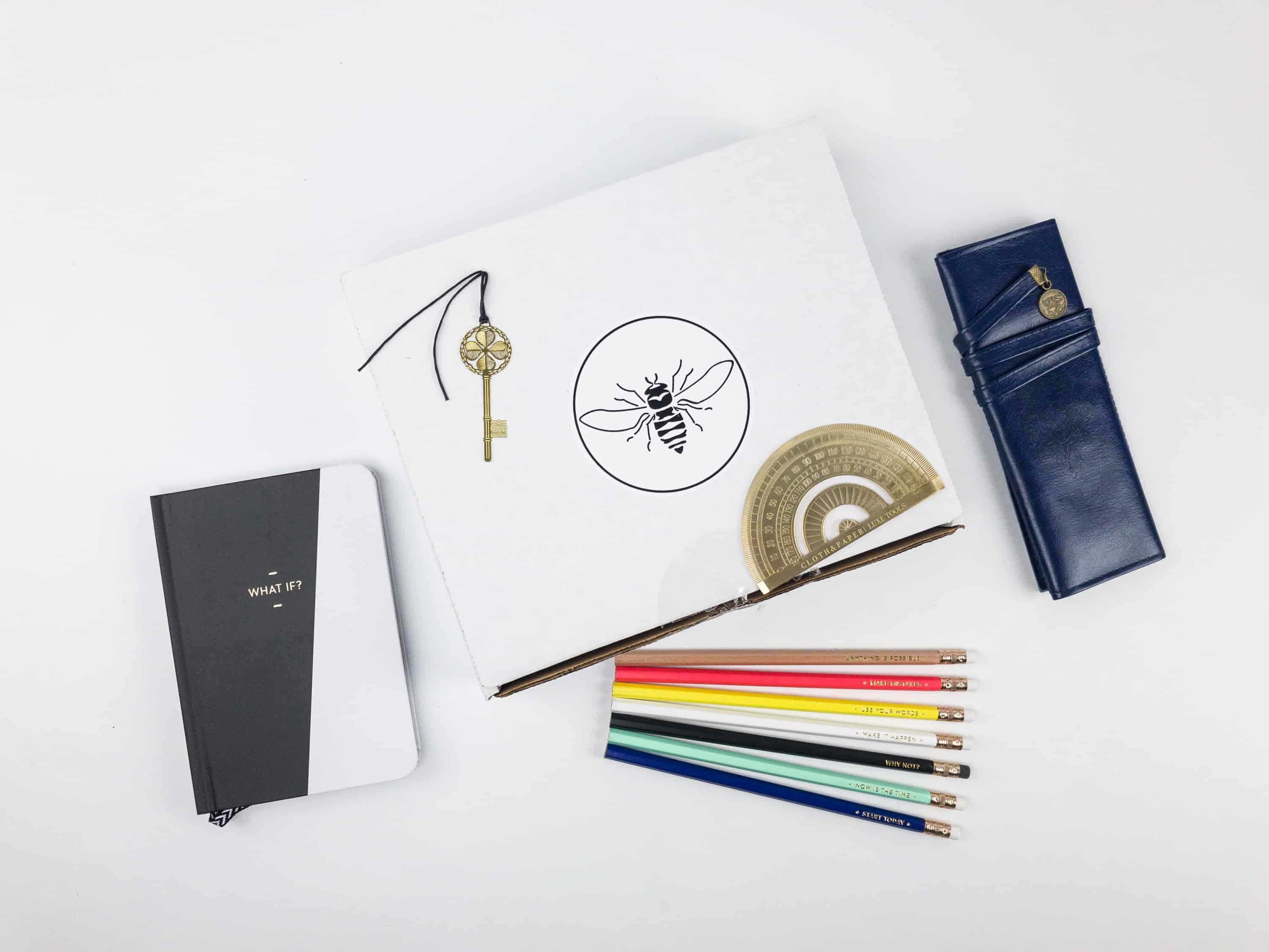 Busy Bee Stationery Subscription Box Review – November 2017