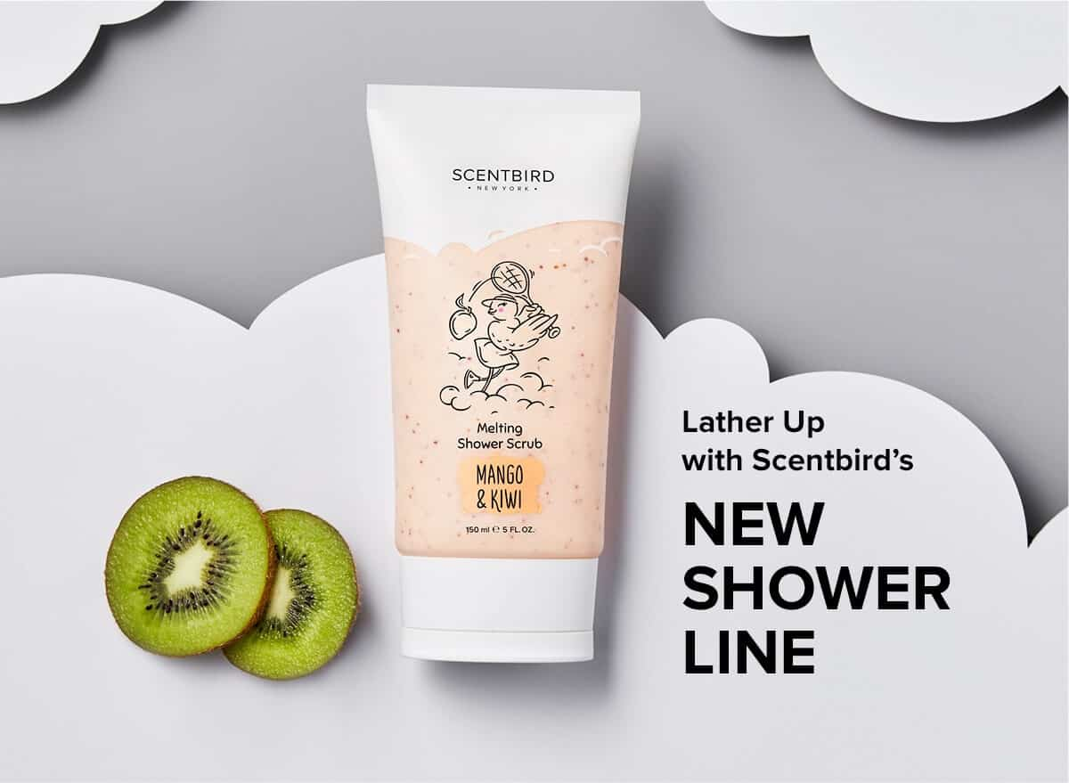 New Scentbird Product Line: Scentbird Shower Line Collection!