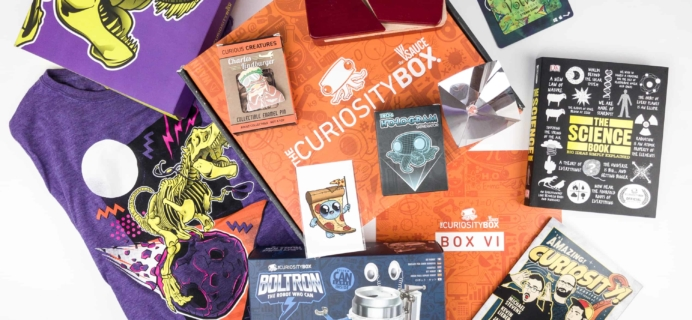 The Curiosity Box by VSauce Subscription Box Review – Fall 2017