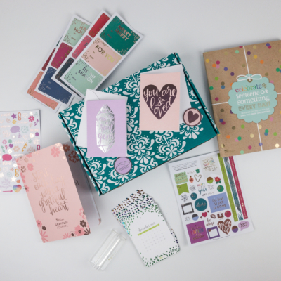 Erin Condren Seasonal Surprise Box Winter 2017 Subscription Box Review