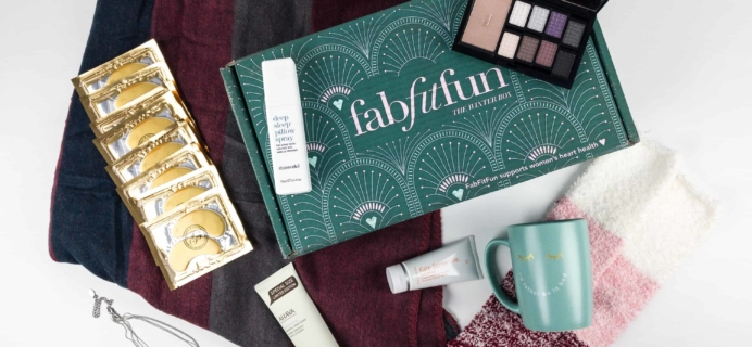 FabFitFun Winter 2017 Box Review + $10 Coupon