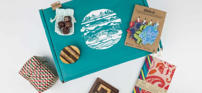 GlobeIn Artisan Box Club December 2017 Subscription Box Review + Coupon! – PLAY!