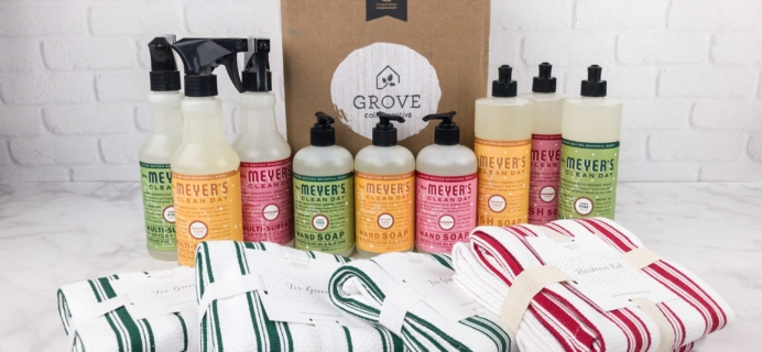 Grove Collaborative Subscription Box Review & Coupon – November 2017