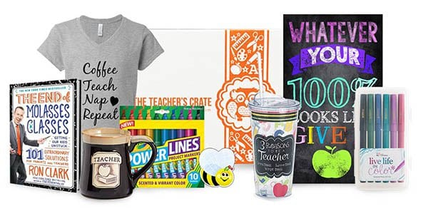Teacher's Crate 2017 Black Friday Coupon: Get $5 off your first box!