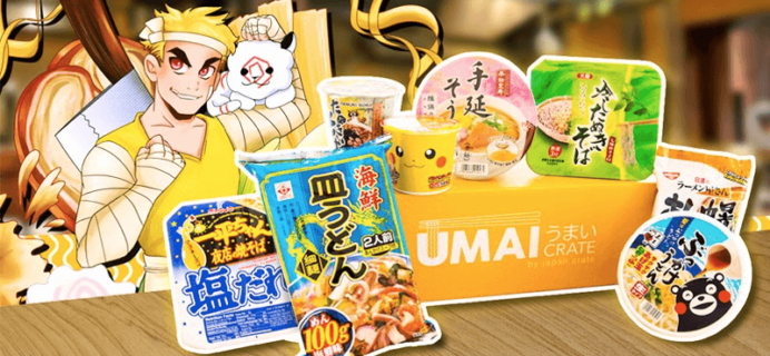 Umai Crate Subscription Box Sunday Coupon: Save 15% on any subscription!