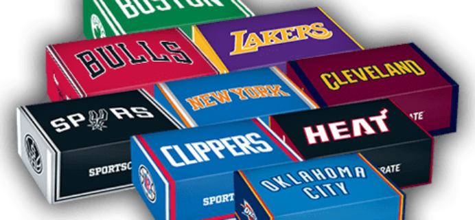 Sports Crate: NBA Courtside Crate September 2018 Full Spoilers & Coupon!