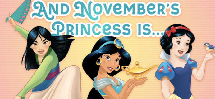 Disney Princess Pleybox November 2017 Princess Spoiler + Coupon!