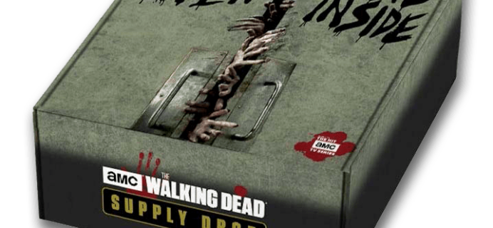 New Subscription Boxes: The Walking Dead Supply Drop Available Now!