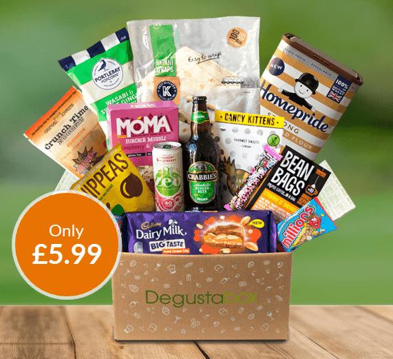 Degustabox UK 50% Off Coupon + Free Gift In First Box – Miso Tasty Ramen Noodle Kit