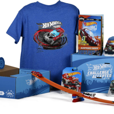 New Hot Wheels PleyBox Available Now!