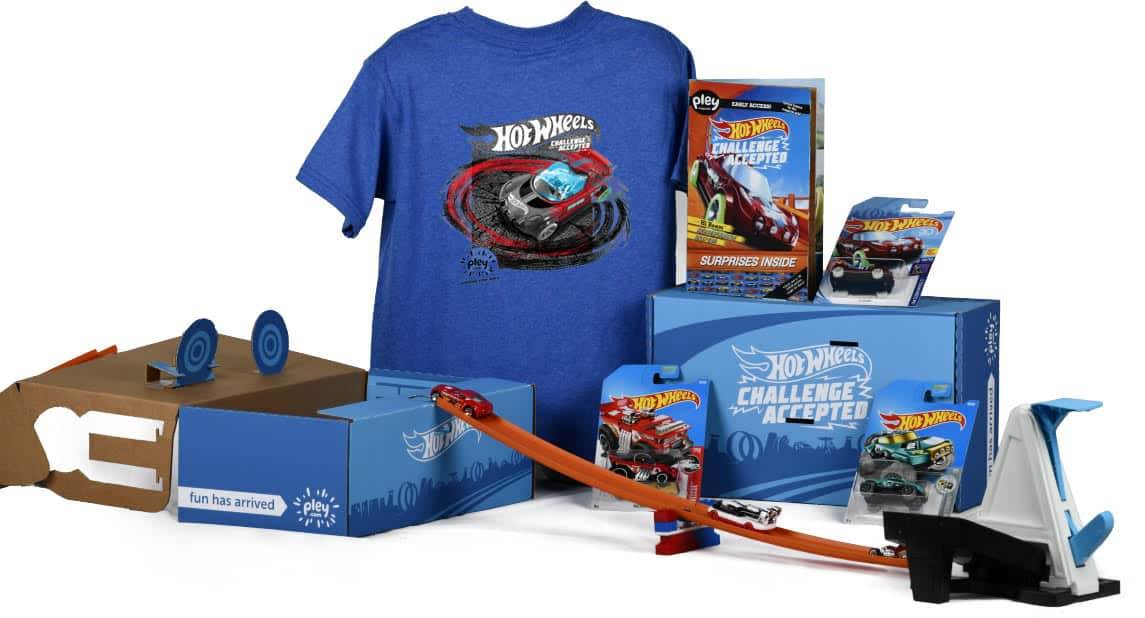 Hot Wheels PleyBox Cyber Monday Coupon Code – First Box $15! EXTENDED ONE MORE DAY!
