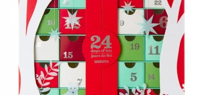2017 David's Tea Advent Calendar Available Now + Full Spoilers!