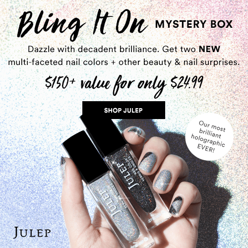 Julep November 2017 Bling It On Mystery Box Available Now + Coupon!