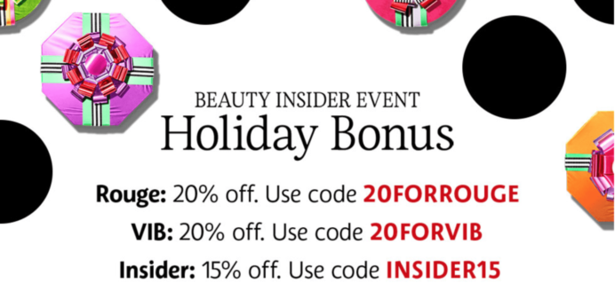 Sephora 2017 20% Off Sale: Last Day!