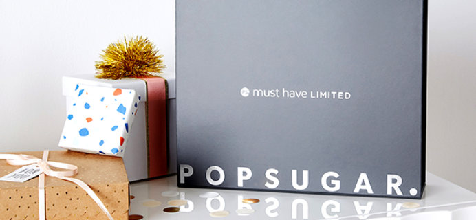 Popsugar Must Have 2017 Winter Limited Edition Box FULL Spoilers!
