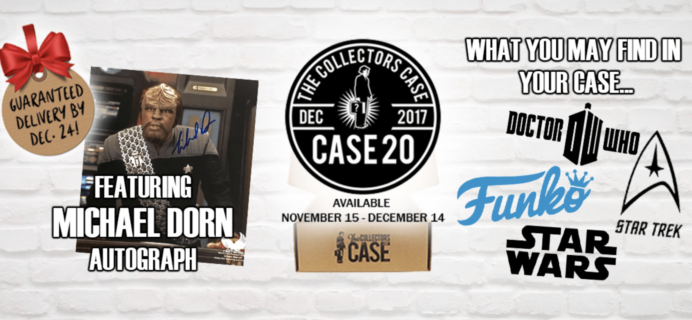 The Collectors Case December 2017 Spoilers!