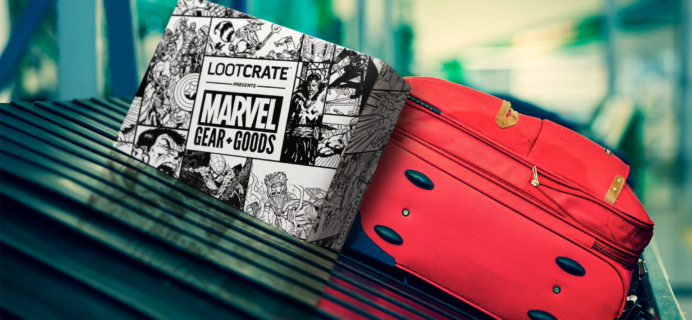 Loot Crate Marvel Gear + Goods January 2018 Theme Spoilers + Coupon!