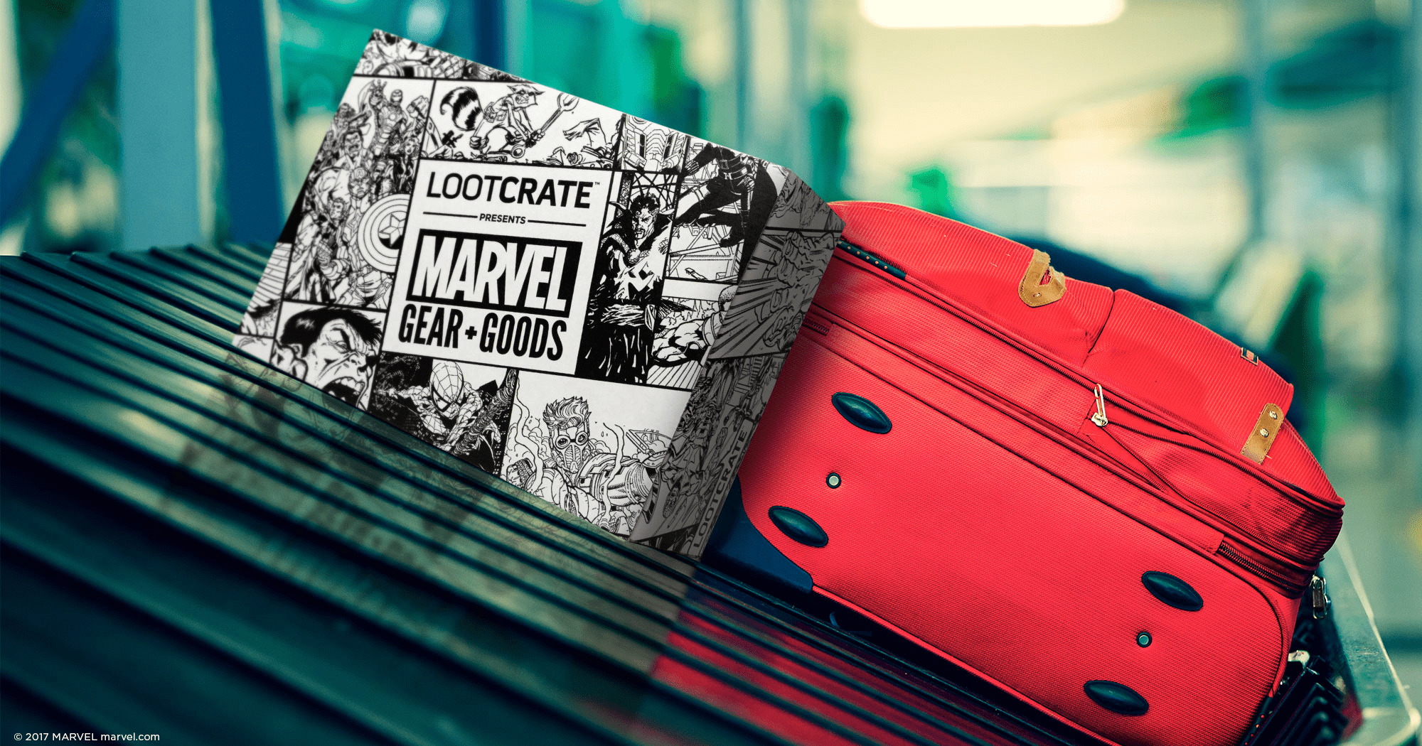 Loot Crate Marvel Gear + Goods January 2018 Full Spoilers!