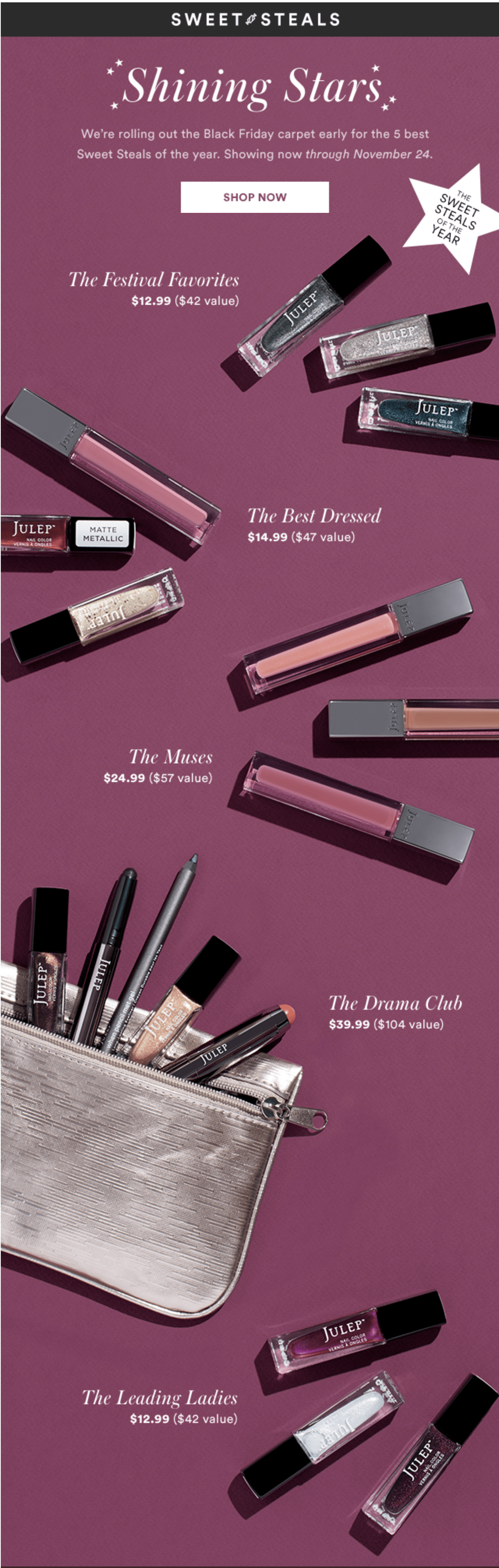 FIVE New Julep Sweet Steals Available Now!