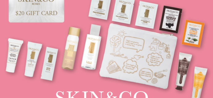 $25 Skin & Co Roma Beauty Discovery Bag Available Now!