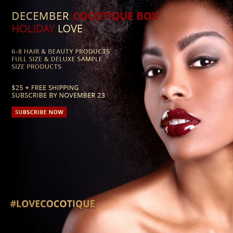 Cocotique December 2017 Spoilers + Coupon Code!