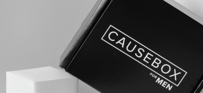 CAUSEBOX Limited Edition Men's Box Available Now + Full Spoilers!