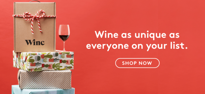 Winc Cyber Monday 2017 Coupon: 4 Bottles for $26!