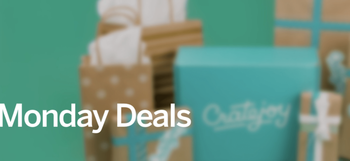 Cratejoy Cyber Monday Sale: Subscription Box Sales & Deals!