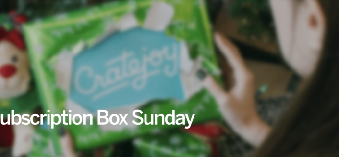 Cratejoy Subscription Box Sunday Sale!