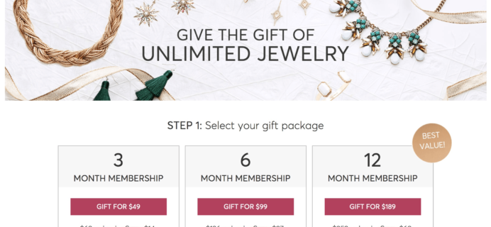 RocksBox Gift Subscription Coupon: $5 Off All Plans TODAY ONLY!
