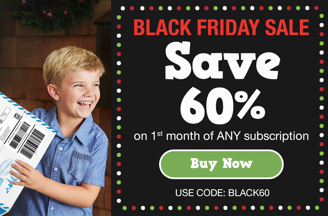 Little Passports Black Friday Deal EXPANDED: Save 60% On First Month  + Up To $40 Off Prepaids!