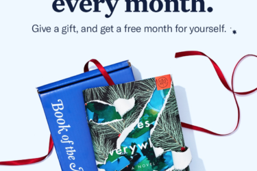 Book of the Month Black Friday Deal: $10 Off Gift Subscription + Free Month For You!